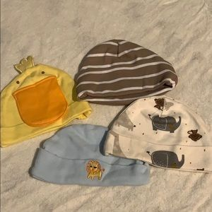 Other - Lot of four newborn hats